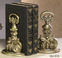 Antique Brass Bookends GU612