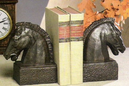 Horse Bookend Bronze