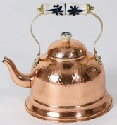 Hammered Copper Tea Kettle LC251