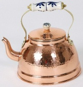 Hammered Copper Tea Kettle LC253
