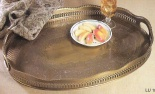 Brass Serving Tray LU182