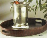 Leather Serving Tray N861