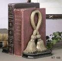 Brass Bookends Tassel