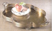 Brass Serving Tray R174