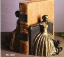 Brass Bookend Ballroom Gown