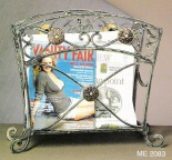 magazine rack iron