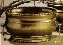 Brass Planter, Decorative Planter