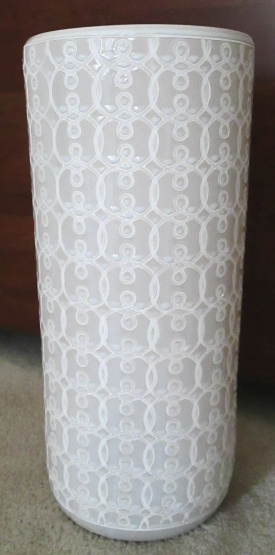 Ceramic Umbrella Stand White Us60 18 2nds