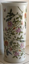 Ceramic Umbrella Stand Ummingbirds