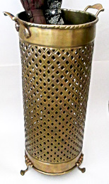 solid brass umbrella stand