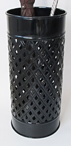 Umbrella Stand Black