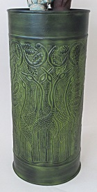 Umbrella Stand Verdigris