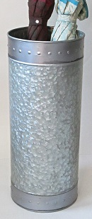 Galvanized Umbrella Stand