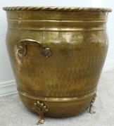Brass Planter with feet