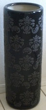 Tall Umbrella Stand Black