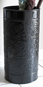 Umbrella Stand Gloss Black