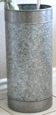 Umbrella Stand Galvanized 9