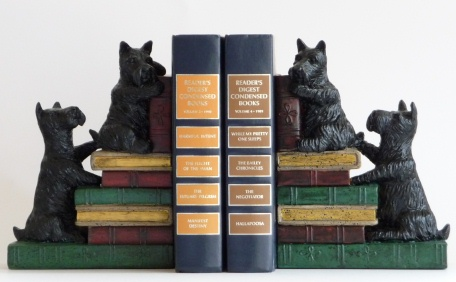 Scotty Bookends 1628