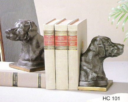 Dog Bookends