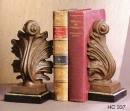 Brass Bookend Acanthus