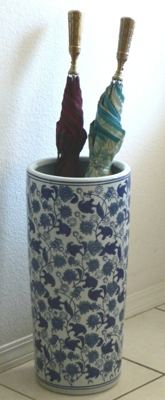 Ceramic Umbrella Stand Vines Us11745