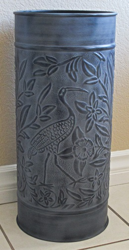 Umbrella STand Bird Grey