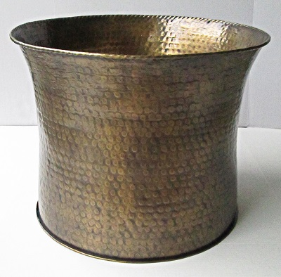 Brass Planter Curved