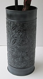 Bird Umbrella Stand Gray