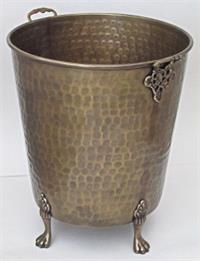 Planter Brass Footed