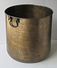 Extra Large Brass Planter