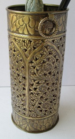 Brass Umbrella Stand Gothic